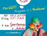 Dětská diskotéka s klaunem Brdíkem